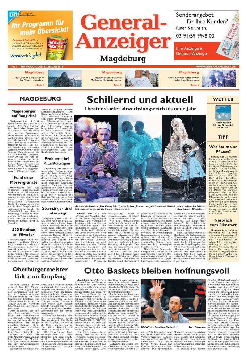 Generalanzeiger Magdeburg Er Sucht Sie